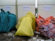 Pytlový svoz tříděného odpadu